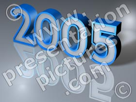 2005 year - powerpoint graphics