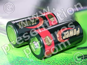 batteries - powerpoint graphics