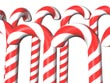 candy cane - powerpoint graphics