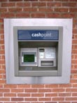 cashpoint atm - powerpoint graphics