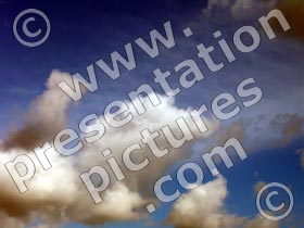 clouds - powerpoint graphics
