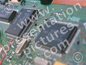 electronics - powerpoint graphics
