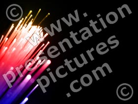 fiber optic cable - powerpoint graphics