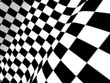 chequered flag powerpoint graphic