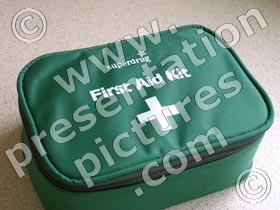 first aid kit - powerpoint graphics