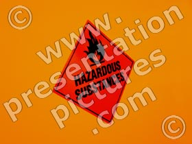 hazardous substance - powerpoint graphics