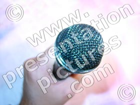 microphone - powerpoint graphics