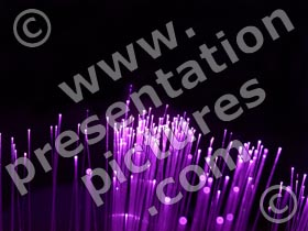 optical fiber - powerpoint graphics