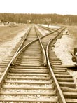 railroad from auschwitz - powerpoint graphics