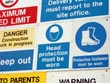 safety sign - powerpoint graphics