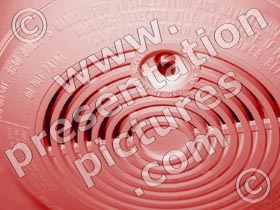 smoke alarm - powerpoint graphics