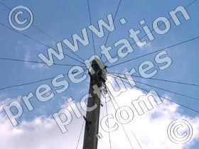 telegraph pole - powerpoint graphics
