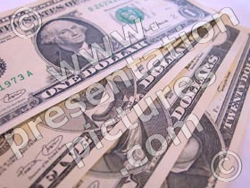 us dollars - powerpoint graphics