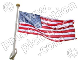 usa united states - powerpoint graphics