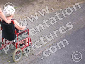 wheelchair - powerpoint graphics